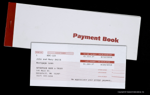 Payment Book and Coupon
